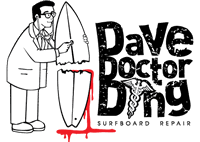 Surfboard Repair DAVE DOCTOR DING